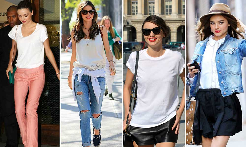 Ways to wear white shirt