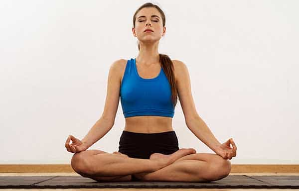Yoga poses that control anger