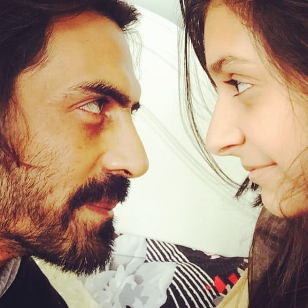 Arjun Rampal With Mahikaa
