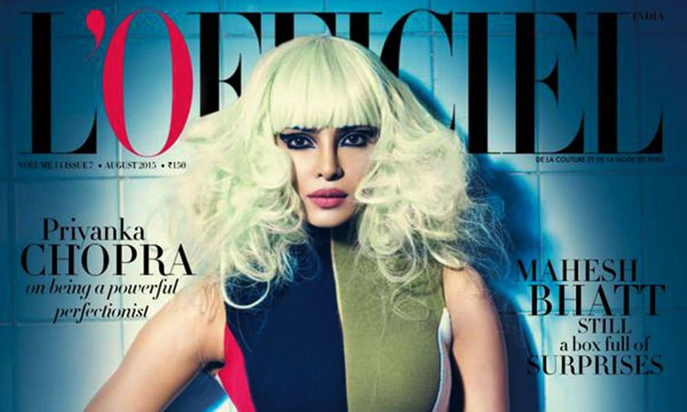 Priyanka Chopra's New Blonde Look
