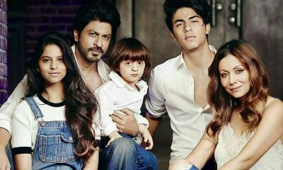 SRK And His Family