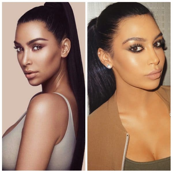 Lookalike Of Kim Kardashian