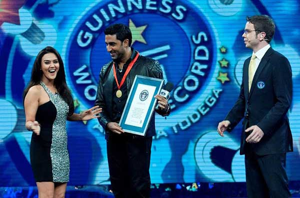 Bollywood Celebrities Who Hold Guinness Book Records