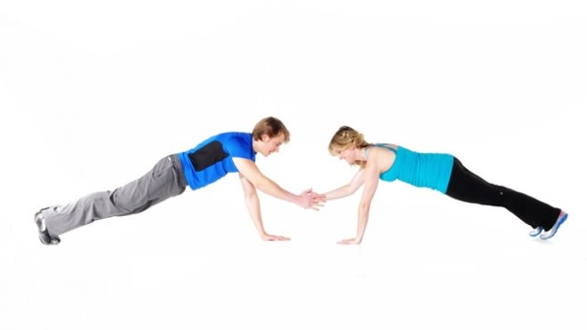 Exercises To Do With Partner