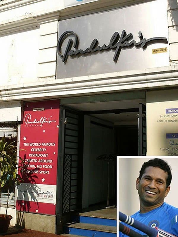 Indian cricketers and their hotels