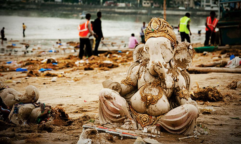 After effects of Ganesh Visarjan