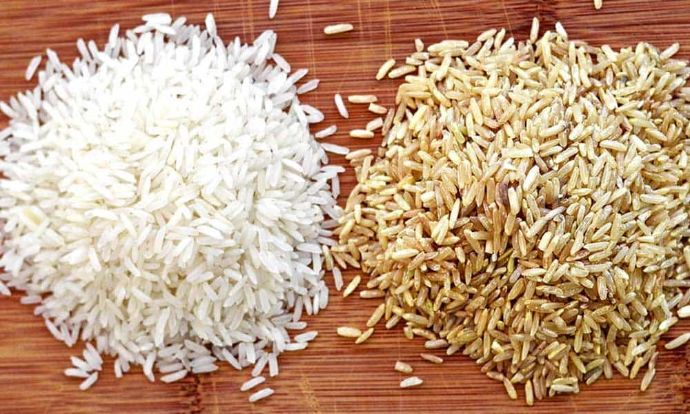White Rice Brown Rice