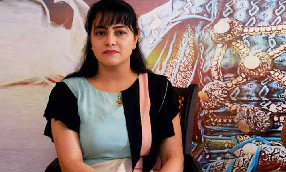 Honeypreet Wanted Slim Figure