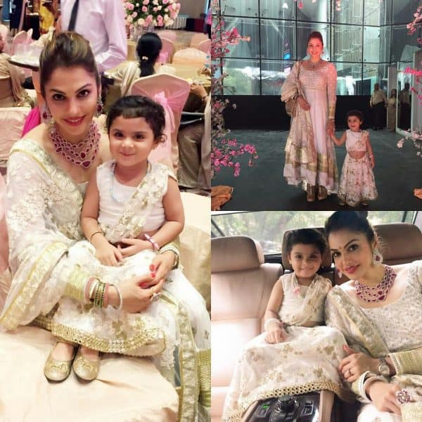 Isha Koppikar With Her Daughter