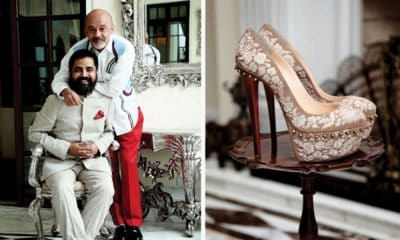Sabyasachi and Christian Louboutin