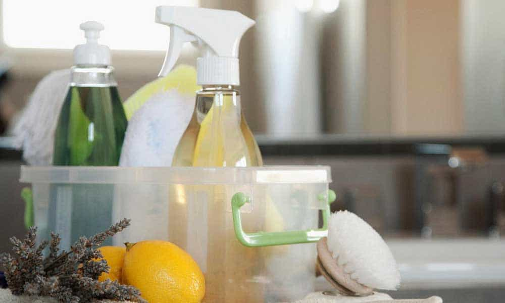 Ways to clean home without chemicals