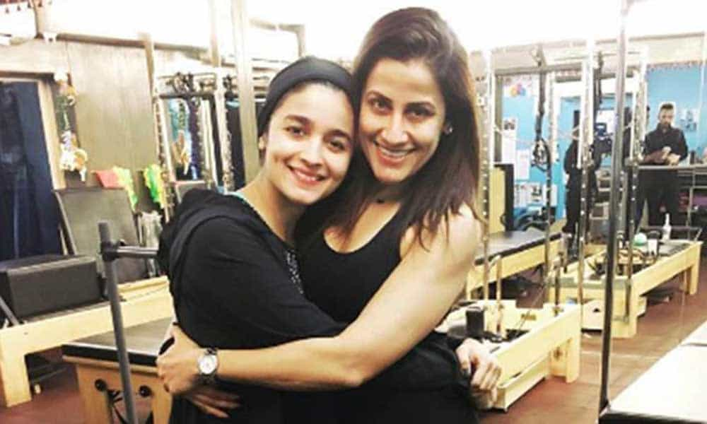 Alia Bhatt Work-Out Plan