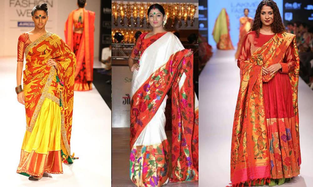 Types of sarees