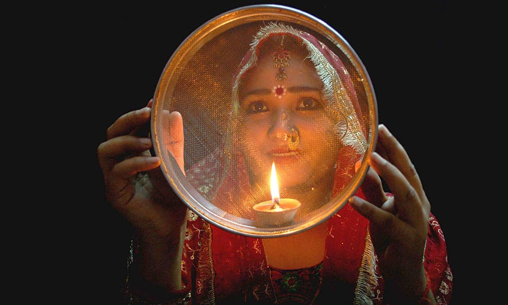 Fasting During Karva Chauth