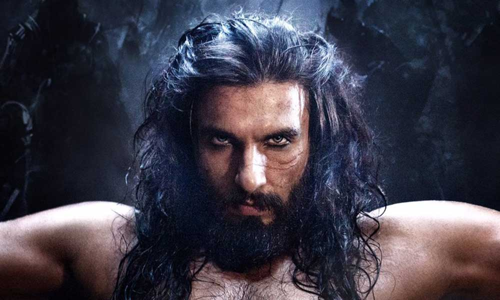 First Look Of Ranveer Singh As Alauddin Khilji