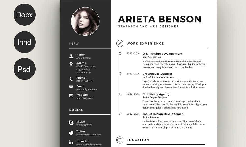 Creativity In Resume