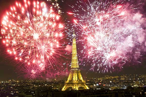 Top Places to Celebrate New Year