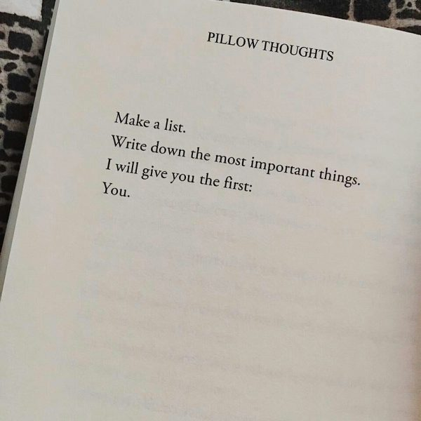 Poems From Pillow Thoughts