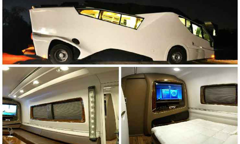 Luxurious vanity vans
