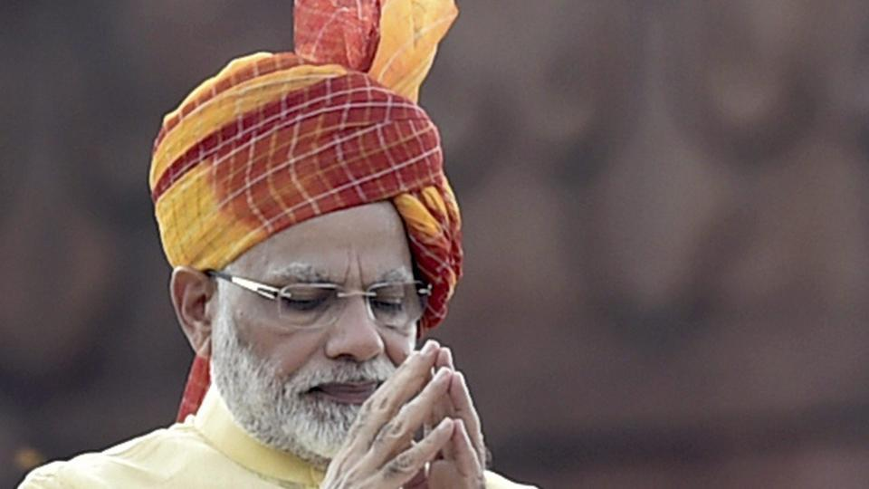 Image result for photo of modi wearing turban