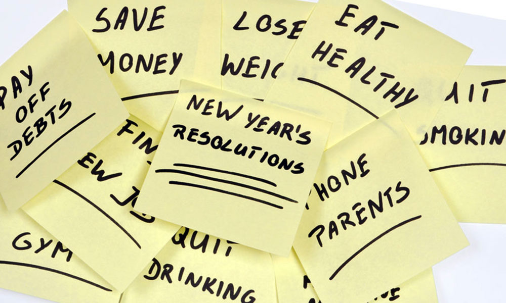 Best new year resolutions