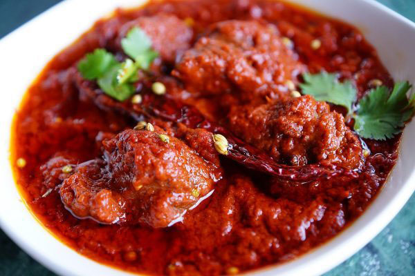 Spiciest Indian dishes