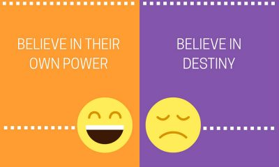 Negative thinker and positive thinker