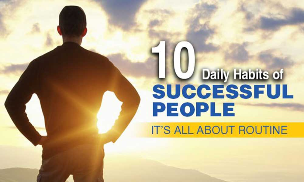 Rules that successful people live by