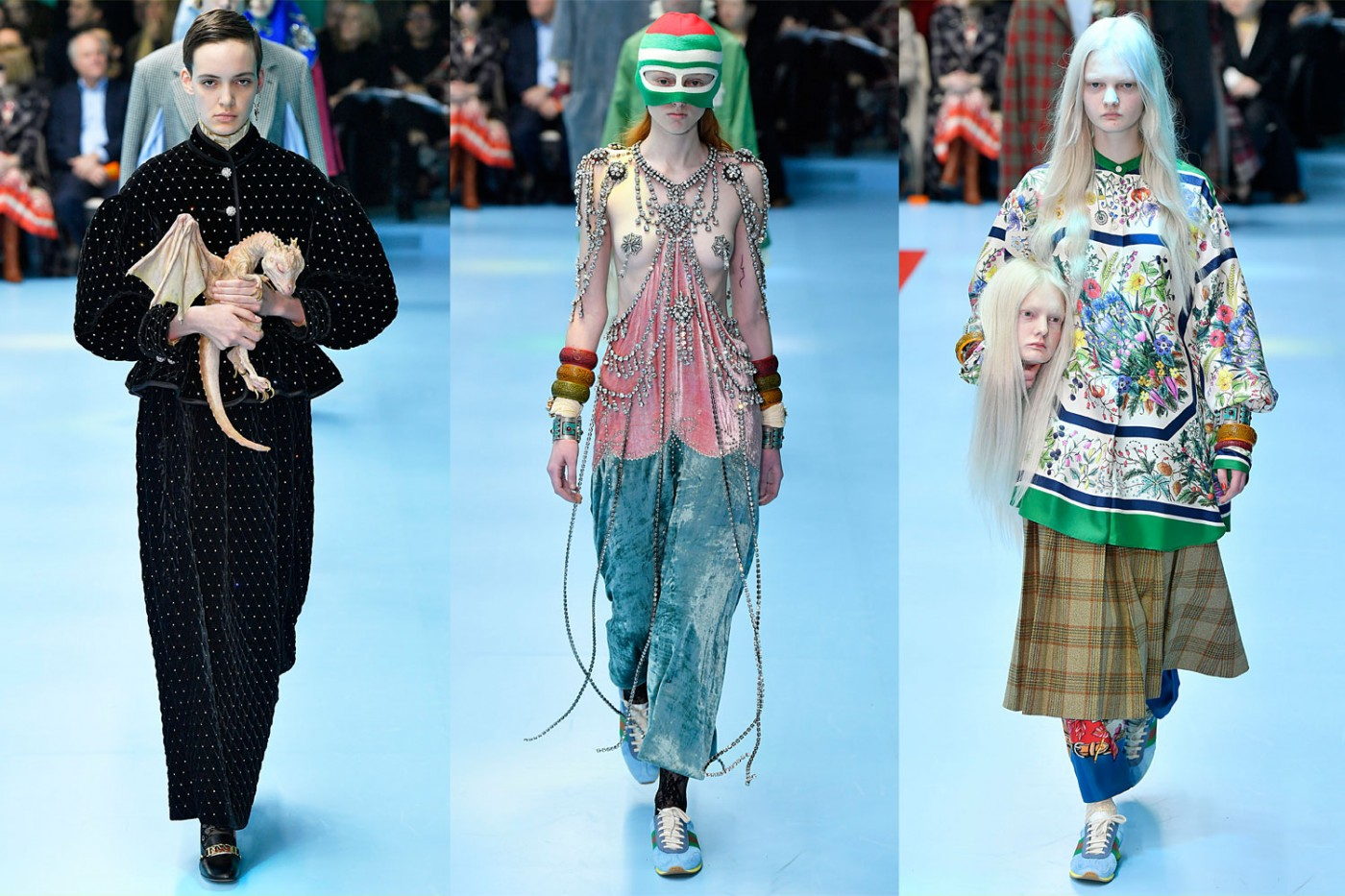 Cringe worthy things on Gucci runway