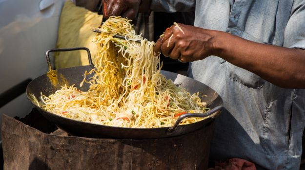 Street foods in Kolkata