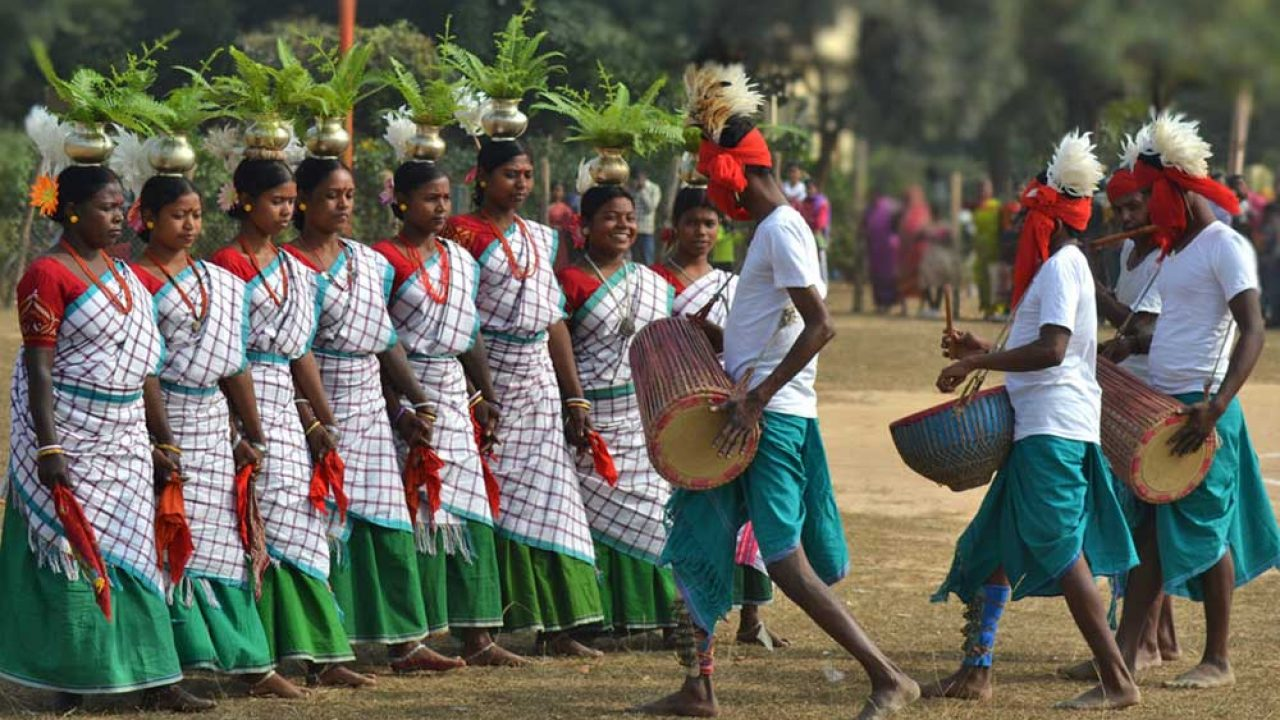 Santhal Tribes - The Santhal Tribes Are The Oldest Tribes In India