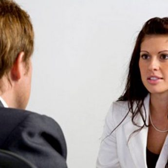 Interview prospective manager