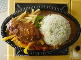 Non-vegetarian sizzlers