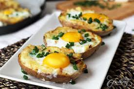 Potatoes And Eggs