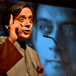 Congress leader Sashi Tharoor