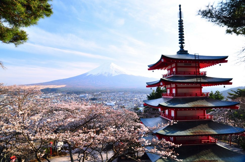 Travelling in Japan