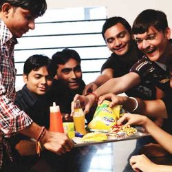 College canteen songs