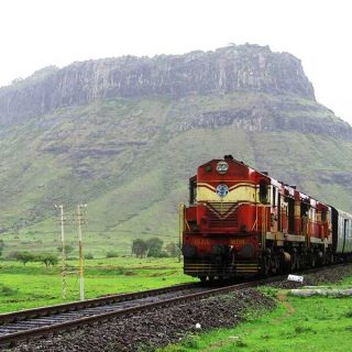 Amazing train rides in India