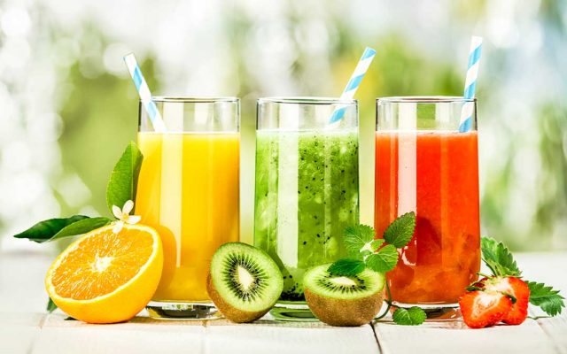 juices-hydrated-lose weight