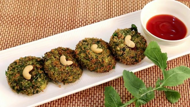 Hara bhara kabab-evening snacks
