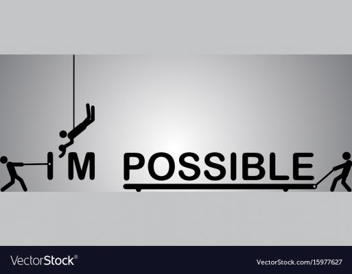 impossible- means-vector