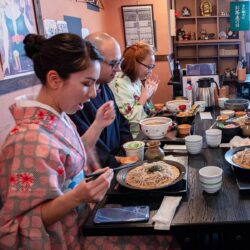 japanese fashion and noodles