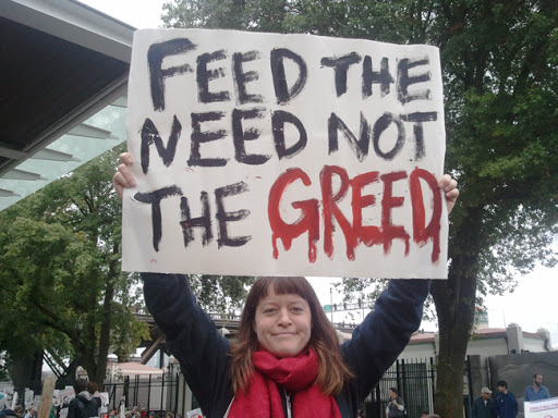 need and greed