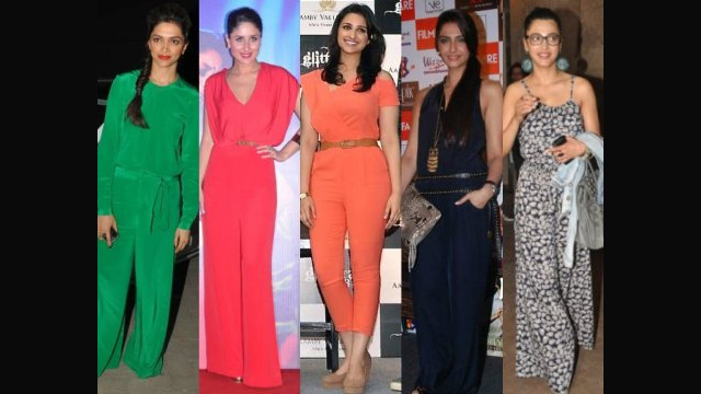 Bollywood beauties in jumpsuits
