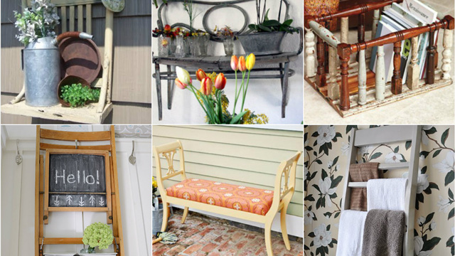 10 things to do with an old chair
