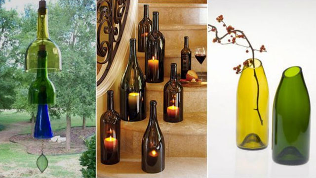 10 things to do with empty glass bottles for Things to do with empty liquor bottles