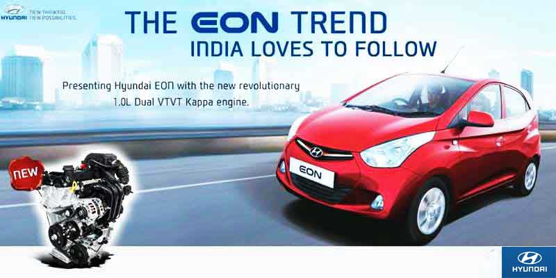 Hyundai 1.0 Kappa Eon Magna+: Price Tag of 3.83 Lakhs Only – It is Made Just for You!